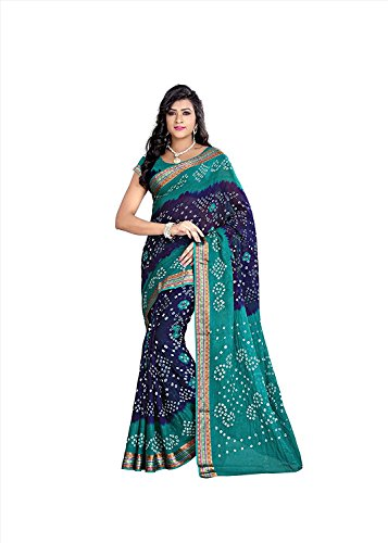 Women's latest designer wear Bandhani beautiful bollywood Saree collection for for women...