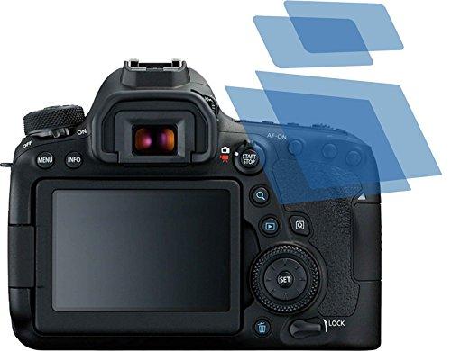 4x ANTIREFLEX matt Schutzfolie für Canon EOS 6D Mark II Premium Displayschutzfolie Bildschirmschutzfolie Schutzhülle Displayschutz Displayfolie Folie