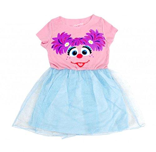Sesame Street Abby Blau Glitter Dress (Toddler (Elmo Kostüme Mädchen)