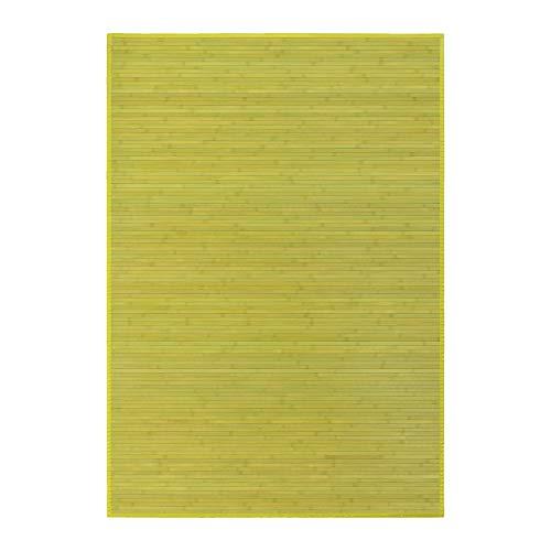 Alfombra salón Comedor Oriental Verde bambú 140