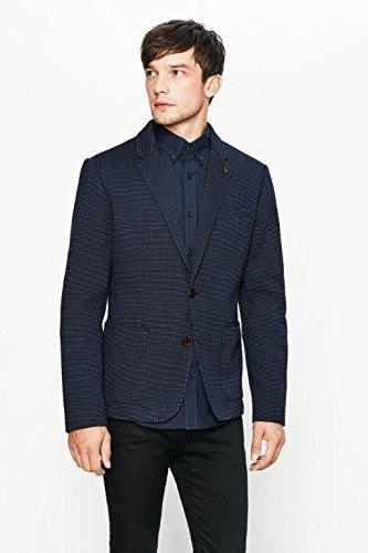 Selected Shdoneallen Blazer Sts, Veste de Costume Homme Bleu (Navy Blue)