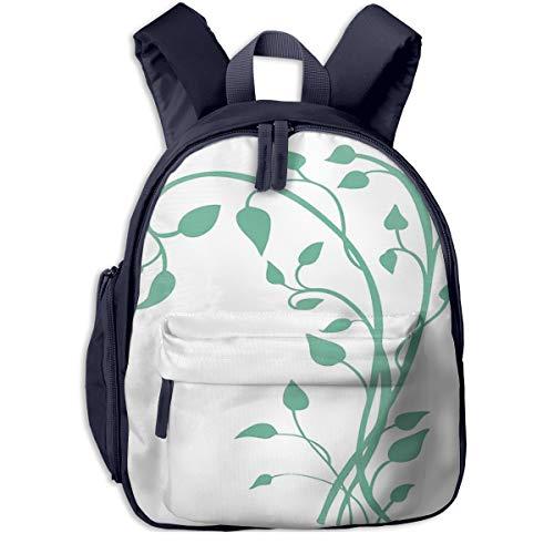 Kinderrucksack Kletterpflanze, Schulrucksack für Mädchen und Jungen Schultasche Schulranzen Teenager Backpack Daypack Freizeitrucksack Kinder Rucksack