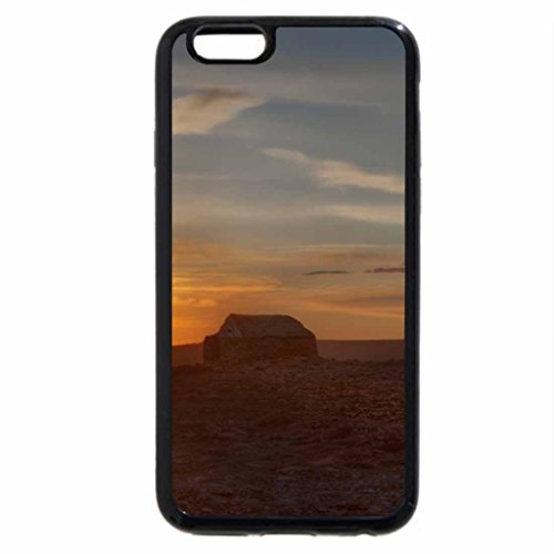 iPhone 6S Case, iPhone 6 Case (Black & White) - Ruins Of A House