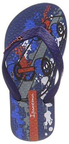 Ipanema Jungen Classic VII Kids Zehentrenner, Mehrfarbig (Blue/Blue 8894), 27/28 EU - Blue Kinder Flip Flop