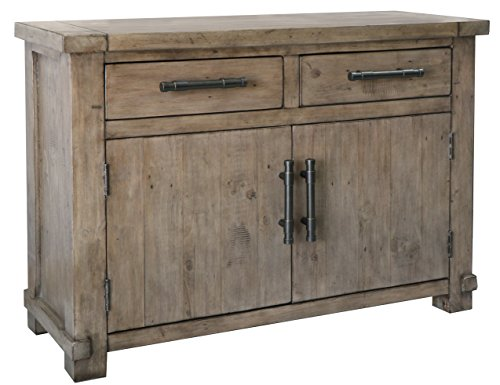 The Wood Times Kommode Schrank Vintage Look Massiv Industrial Kiefer FSC Recycled, BxHxT 120x85x45 cm