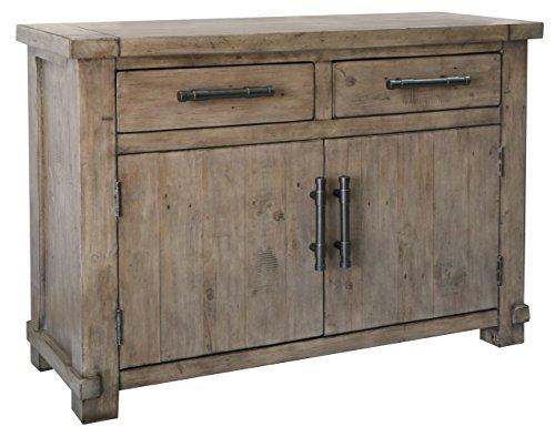 The Wood Times Kommode Schrank Vintage Look Massiv Industrial Kiefer FSC Recycled, BxHxT 120x85x45 cm