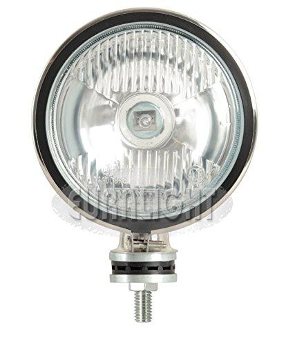 """12 Volt Fernscheinwerfer """"Rallye 160"""" - Edelstahl"""