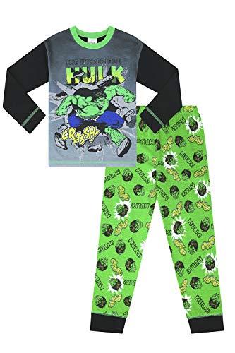 Marvel The Incredible Hulk Crassh Pijama niños Verde