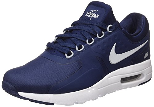Nike Air Max Zero Essential, Herren Sneaker, Blau (Midnight Navy/White-Pure Platinum), 41 EU (7 UK) (Air Uk)