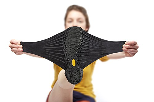 Vibram five fingers Furoshiki - Scarpe da avvolgere al piede, Unisex, tutti i colori Black