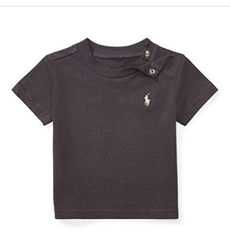 Ralph Lauren Baby Jungen (0-24 Monate) T-Shirt Grau grau Gr. 9 Monate, grau