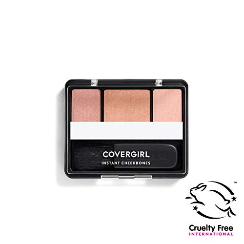 CoverGirl Instant Cheekbones Contouring Blush Sophisticated Sable 240, 0.29 Ounce Pan by CoverGirl (English Manual)