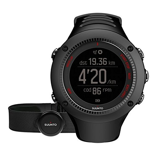 418%2BJrkCYoL - BEST BUY #1 Suunto, AMBIT3 RUN HR, Unisex GPS Watch for Running, 15 Hrs. Battery Life, Heart Rate Monitor +  Chest Strap, Waterproof up to 50 m, Black, SS021257000 Reviews and price compare uk