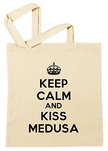 keep-calm-and-kiss-medusa-baumwoll-einkaufstasche-wiederverwendbar-cotton-shopping-bag-reusable