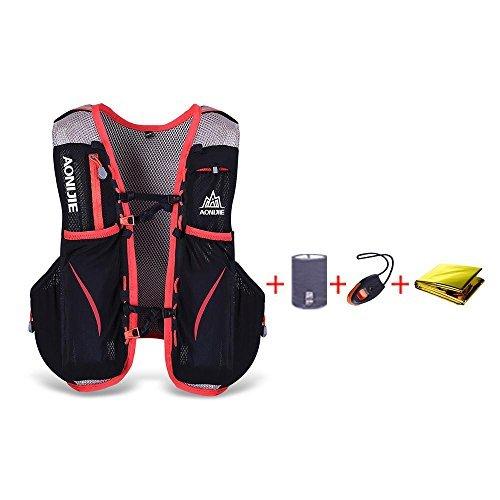 Imagen de aonijie 5l impermeable nylon running  maratón ciclismo bolsas corriendo chaleco kettle sport bag l/xl  alternativa