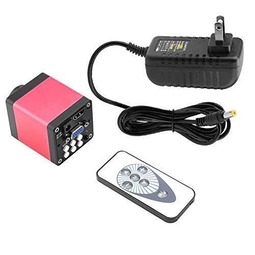 Telecamera per microscopio industriale HDMI VGA, 13MP 60F / S Fotocamera microscopio industriale KP-200D, Macchina fotografica del microscopio HD(EU Plug 220V)