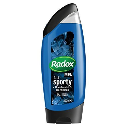 Radox for Men Watermint & Sea Minerals Shower Gel 250ml by Radox