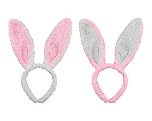 GIRM® - 7835 - Cerchietto da coniglietto per costume di
