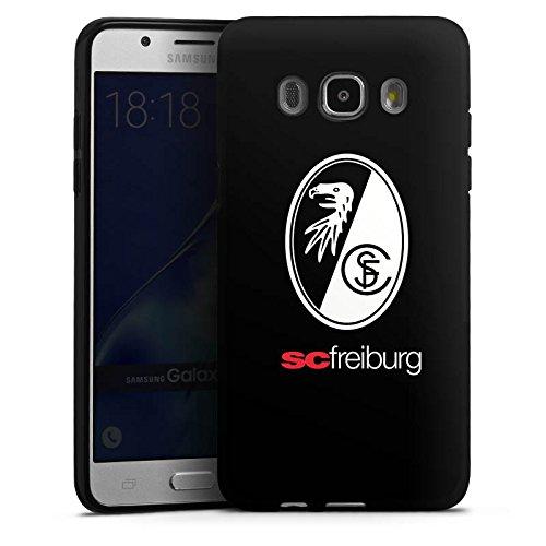Samsung Galaxy J5 (2016) Silikon Hülle Case Schutzhülle SC Freiburg Fanartikel Football