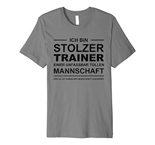 Stolzer Trainer T-Shirt | Sport Team Geschenk Verein Coach - Schwimmen T-shirt Sprüche