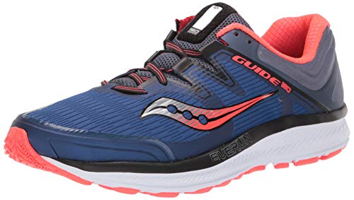 Saucony Guide ISO, Scarpe da Corsa Uomo, Multicolore (Blue/Grey/Vizired 35), 44 EU