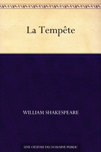 La Tempête par William Shakespeare