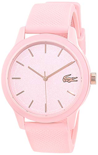 Lacoste Womens Analogue Classic Quartz Watch with Silicone Strap 2001065