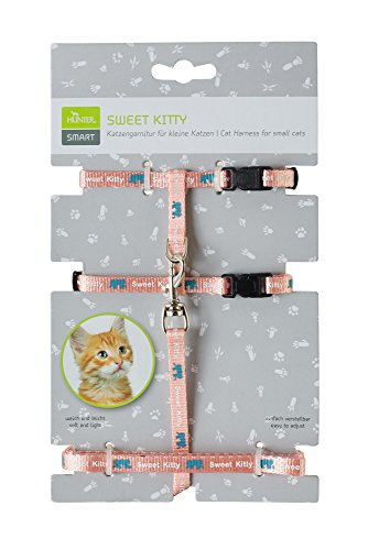 Hunter Katzengarnitur Sweet Kitty Nylon, rosa