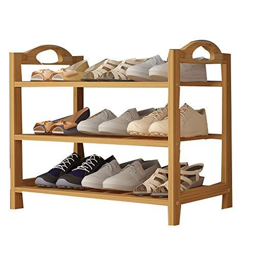 s, einfacher Rahmen aus der Pflanze der Mode von Schichten Wohnzimmer Schlafzimmer Aufbewahrung Regal,Brown,80CM ()