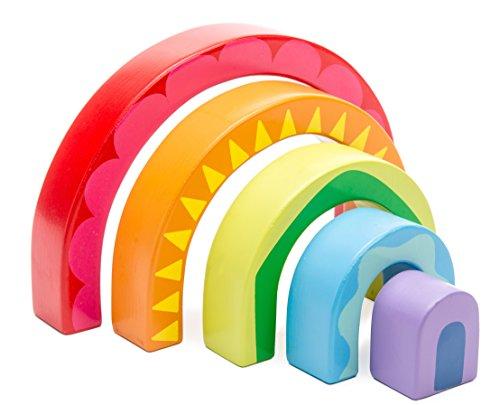 Petilou PL107Rainbow Tunnel Spielzeug -