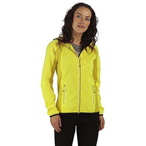 Regatta Womens/Ladies Willowbrook III Full Zip Marl Fleece Jacket (Fleece Full-zip Weste)