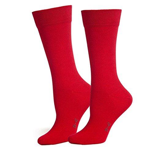 Safersox Business Socken Rot, 43-46