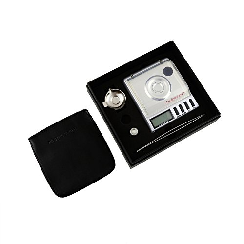 Dongjinrui Schmuck Skala Hochpräzise digitale Milligramm Taschenwaage 0,001 G 20 G Balance Gewicht Diamant Schmuck Werkzeug (Digitale Für Skala Schmuck)
