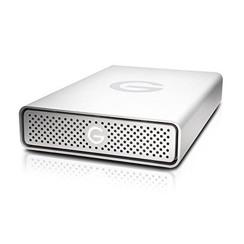 G-Technology G-Drive Externe Festplatte (USB 3.0, 2 TB) Silber 4TB (Externe Festplatte G-technology)