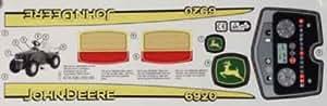 Autocollant pour rolly toys de John Deere 6920