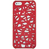 EARLYBIRD SAVINGS Red Bird's Nest Hard Protector Case for Apple iPhone 5 5G 6th + Free Screen Protector & Capacitive Touch Screen Stylus