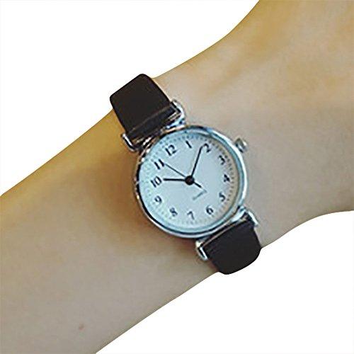 Uhren Damen Armbanduhr Uhrenarmband Frauen Quarz Analog Uhr Handgelenk Kleine Armbanduhr Vorwahlknopf-Zarte Uhr Luxusgeschäfts Uhren,ABsoar