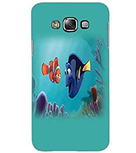 SAMSUNG GALAXY GRAND MAX FISH Back Cover by PRINTSWAG