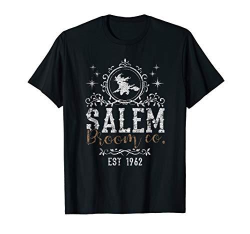 Hexen Salem Broom Company Grunge Halloween Damen Hexe T-Shirt