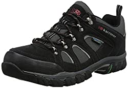 Karrimor Bodmin IV Weathertite, Men's Low Rise Hiking Shoes, Grey (Black Sea), 9 UK (43 EU)