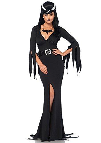Kostüm Immortals - Leg Avenue 85571 - Immortal Beauty Kostüm-Set, Damen Fasching, XL, schwarz