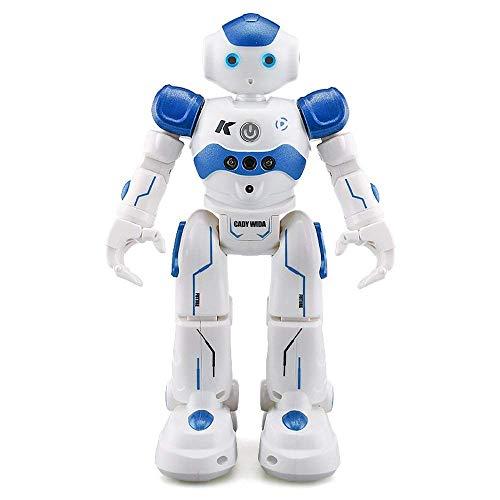 MODELTRONIC JJR/C R2 Robot de Juguete Cady WINI Robot RC Inteligente Robot Teledirigido - Caminar Deslizarse Bailar Cantar Inteligente Programable Gesto Control Robot Regalo de Juguete