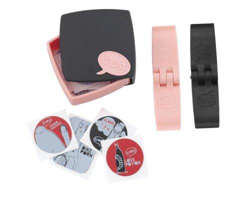 Preisvergleich Produktbild Knog Porno Patches Kit Theken Display