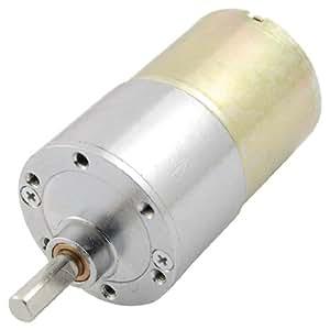 sourcingmap Motore a coppia elevata magnetico - DC 12V 130mA 50RPM 4,32Kg/cm