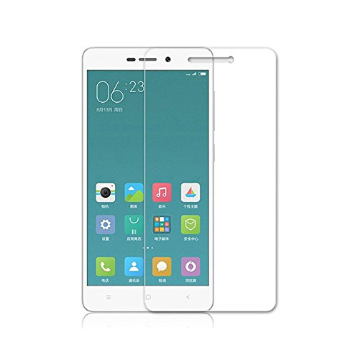 Plus Tempered Glass for Xiaomi Redmi Note 3 [Cutout for Proximity Sensor], 0.3mm thickness, 9H Hardness, 2.5D Curved Edge, Reduce Fingerprint, No Rainbow, Shatterproof, Bubble Free & Oil Stains Coating with Alcohol wet cloth pad & clean micro fibre Dry cloth, Anti Explosion Tempered Glass Screen Protector for Xiaomi Redmi Note 3