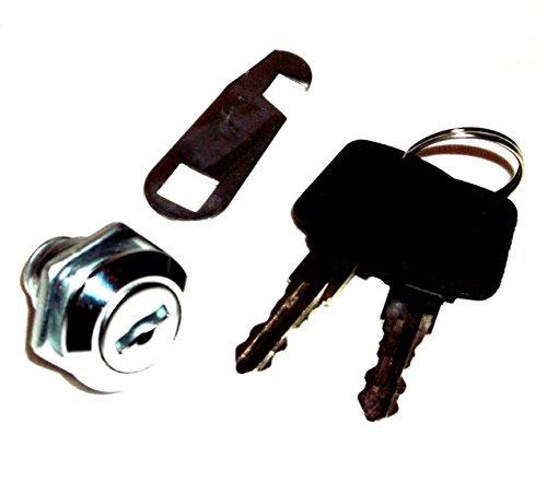 Briefkastenschloß - Briefkastenschloss - Briefkasten - Schrankschloss - mit 2 Schlüsseln
