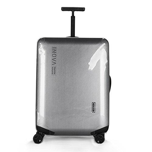 Copertura valigia per Samsonite Inova Spinner Protezione trasparente trasparente della copertura della custodia per i bagagli di viaggio