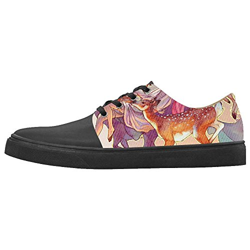 Dalliy kunst hirsch Boy's Canvas shoes Schuhe Footwear Sneakers shoes Schuhe A