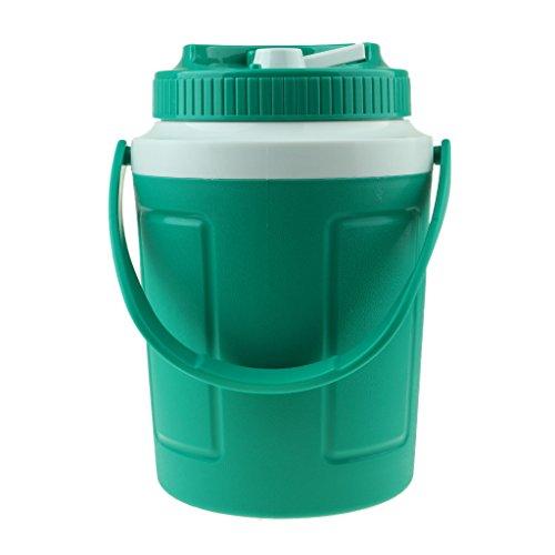 Baoblaze Eiseimer Eiswürfel Eiswürfelbehälter aus Kunststoff Eisbehälter - Grün 2L