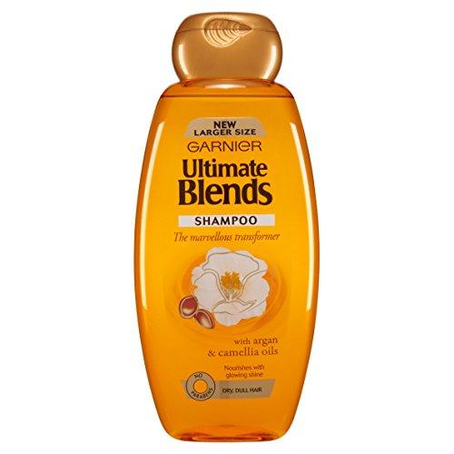 Garnier Ultimate Blends Argan Oil Shiny Hair Shampoo 600ml